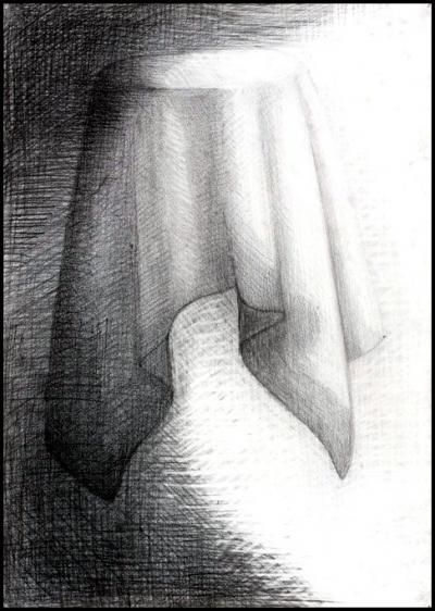 grafika - drapéria
