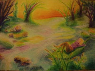 Álom 2 2013 akvarellceruza 75x50