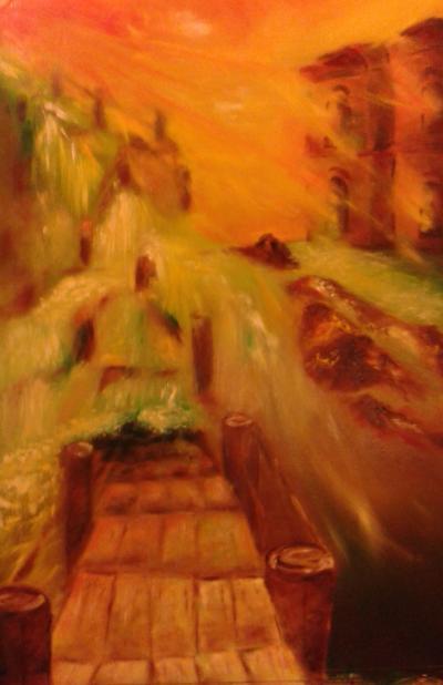festmény születése