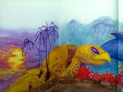 falfestmény