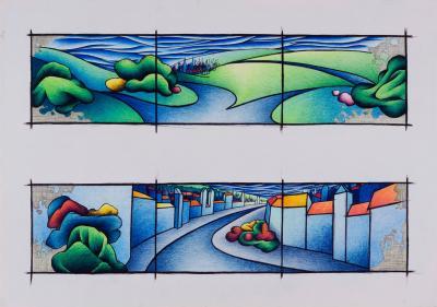 1998 grafika 59x42