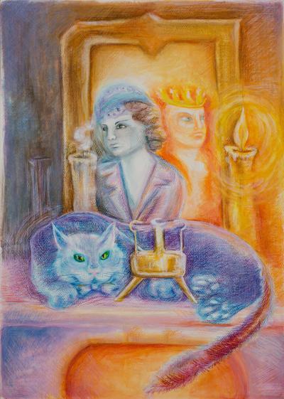 akvarellceruza