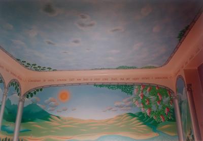 2002 szoba falfestmény